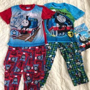 Thomas & Friends Train red green Pajama Bundle 🚂